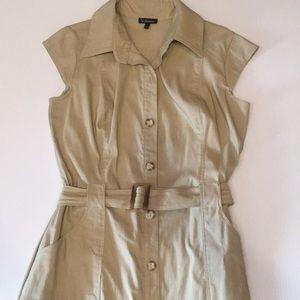 Le chateau Safari shirt Dress Sz Small